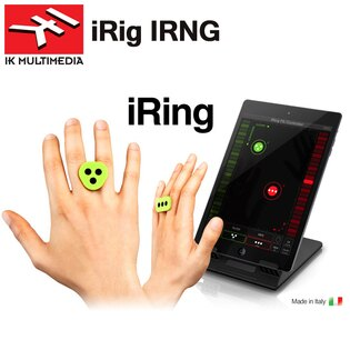 【非凡樂器】IK Multimedia iRing - 手勢動作控制器 iPhone/ iPad/ iPod 用(義大利製)