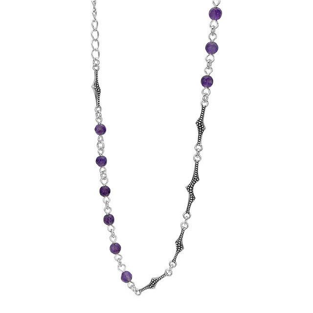 【海外訂購】【Bloody Mary】Albus 紫水晶純銀項鍊 60cm (BMN1223-A-60  064373B600) 3