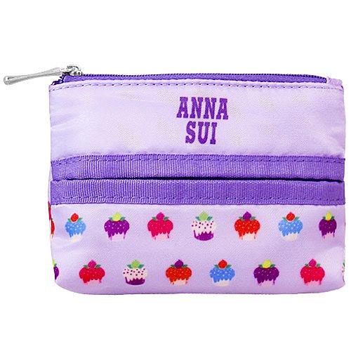 ANNA SUI 安娜蘇 紫戀甜心面紙零錢包 ☆真愛香水★ 另有安娜蘇紫戀甜心手提包
