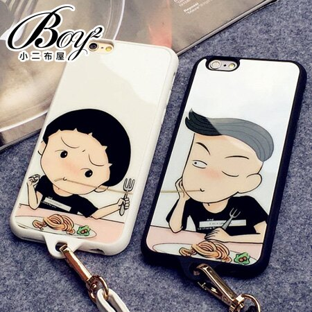 ☆BOY-2☆【N4008】多款圖案造型掛繩手機殼 蘋果iPhone6 5/5s 0