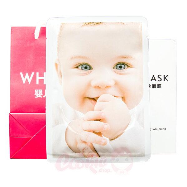 WH MASK嬰兒蠶絲面膜(單片入)【庫奇小鋪】