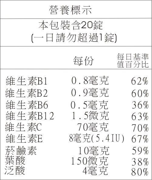 【德國Sunlife】兒童專用綜合維他命發泡錠(覆盆子) 20顆(活動單次購買3瓶隨貨附贈1瓶) 1