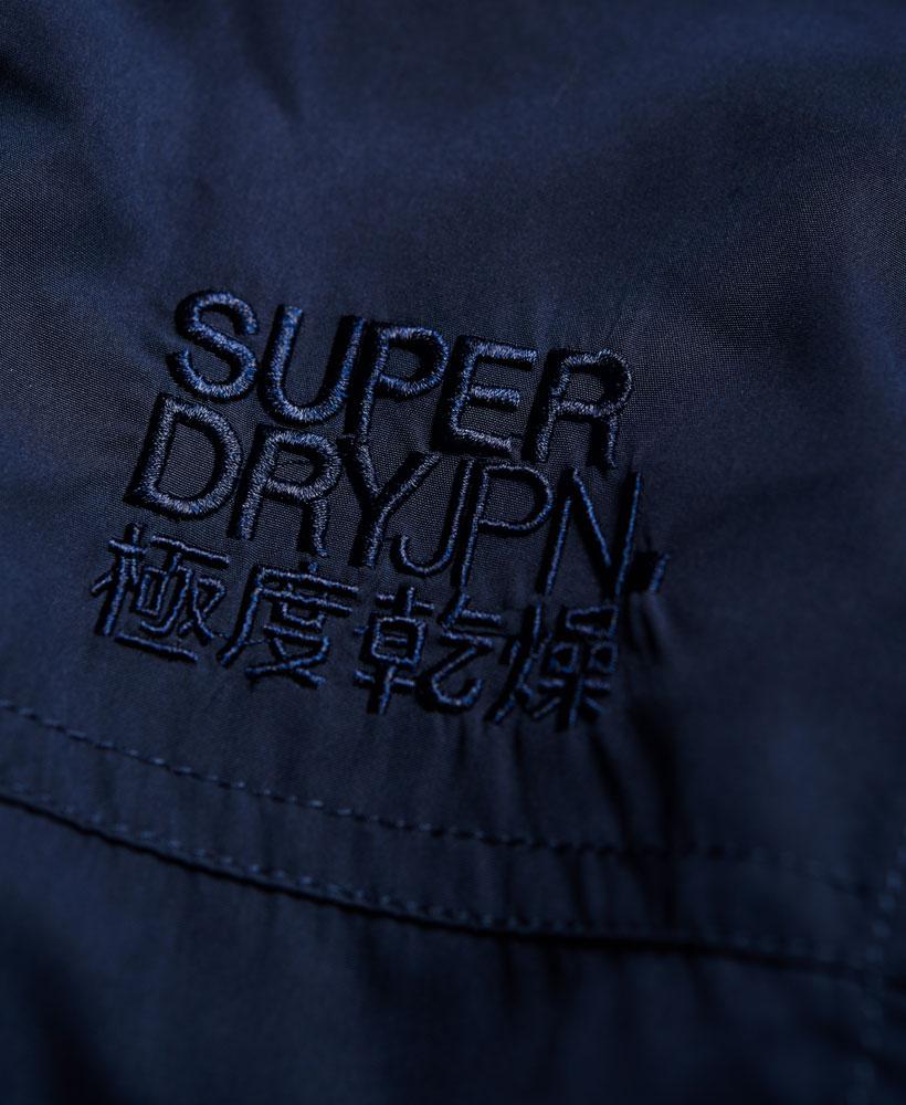 [男款] 英國代購 極度乾燥 Superdry Moody Nite Flite 輕質短版壓花 男士風衣戶外防風防水外套夾克 4