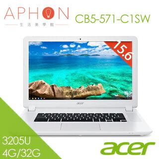 【Aphon生活美學館】acer  Chromebook CB5-571-C1SW 15.6吋 筆電-送七巧包
