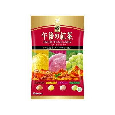 有樂町進口食品 日本進口 卡巴 午後紅茶糖 80g J65 4901550226772