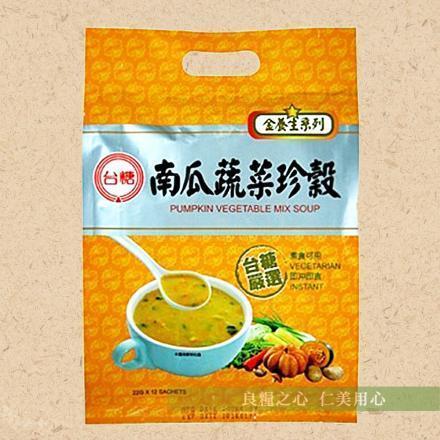 台糖 南瓜蔬菜珍穀^(12包 袋^) ~  好康折扣