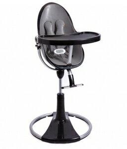 美國【Bloom】fresco chrome 可調式時尚高腳椅 -塑膠材質(黑) - 限時優惠好康折扣