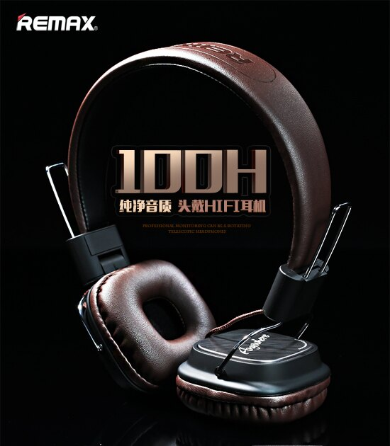 Remax RM-100H 頭戴HIFI耳機 免持聽筒 iphone6s 三星 HTC SONY 華碩 LG