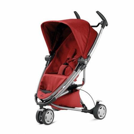 【可加購提籃】荷蘭【Quinny】Zapp Xtra2-2015 嬰兒推車(紅) 0