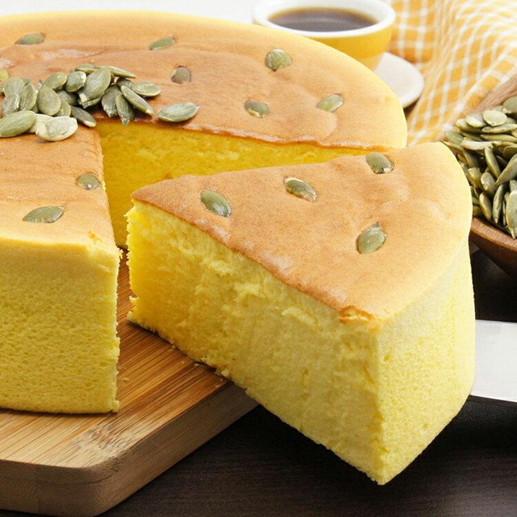 [伯恩乳酪工坊]❤8吋黃金南瓜乳酪❤伯恩頭家得意作品❤ 大量南瓜泥使用.使蛋糕體呈現金黃色 色香味俱全 兼顧健康養生 3
