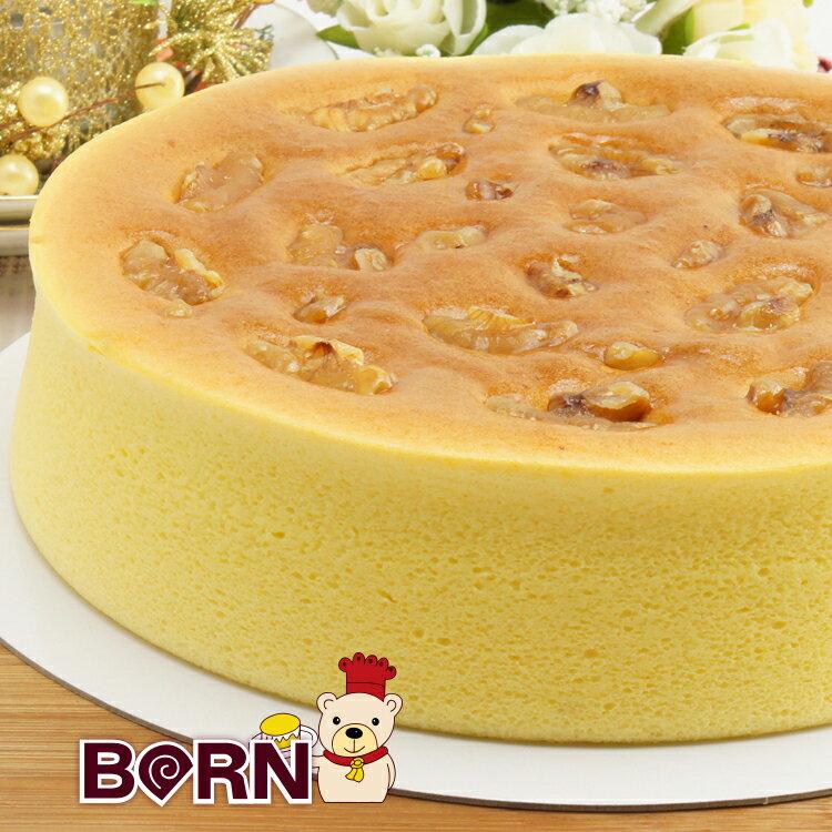 [伯恩乳酪工坊]❤每日限量12組❤8吋經典蜂蜜乳酪❤ 以龍眼蜜為主題 搭配中乳酪比例 更以新鮮紅蘿蔔汁添加取代蛋糕所需水份 並以核桃點綴提味 口感扎實綿密 營養滿分 2