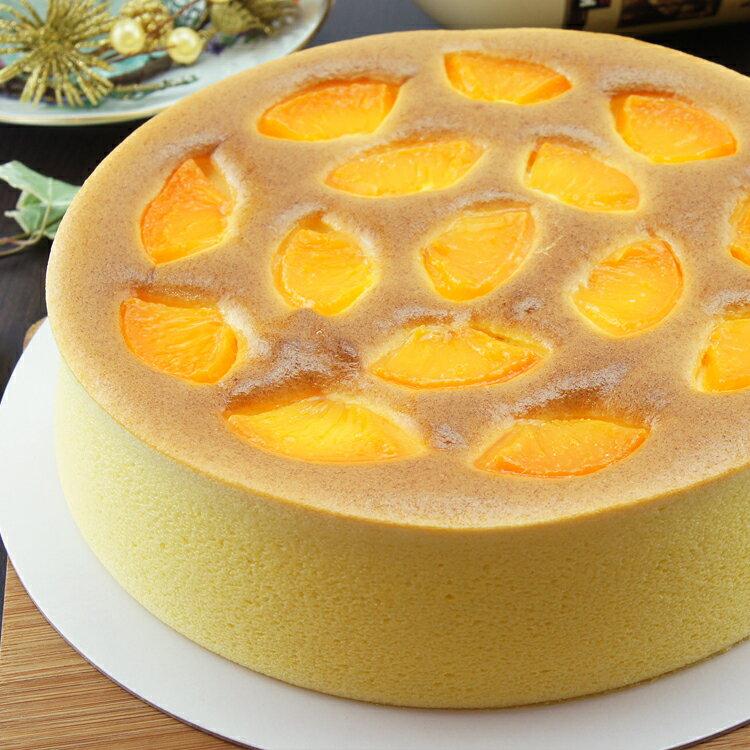 [伯恩乳酪工坊]❤每日限量12組❤8吋蜜桃乳酪❤厚切蜜桃果肉均勻鋪在蛋糕表面 一口咬下 果肉與蜜桃口味細緻綿密的蛋糕體結合 入口即化 蜜桃風味久久不散 2