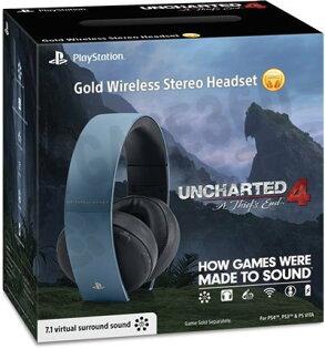 現貨供應中 公司貨 一年保固 [PS4 周邊] 秘境探險 4:盜賊末路 特仕灰藍色無線耳機