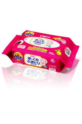 日本【Pigeon 貝親】手口柔濕巾補充包 (70入/包) - 限時優惠好康折扣
