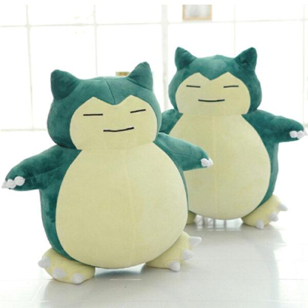 50cm卡比獸娃娃玩偶抱枕 可愛絨毛玩具 快龍暴鯉龍精靈寶可夢pokemon