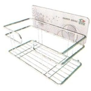 【珍昕】 家而適免釘無痕強力貼 洗衣粉洗衣機放置架