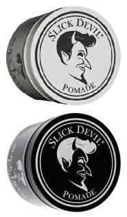 SLICK DEVIL Pomade 水洗式造型髮油髮蠟 #滑順銀/#強力黑 113g ☆真愛香水★