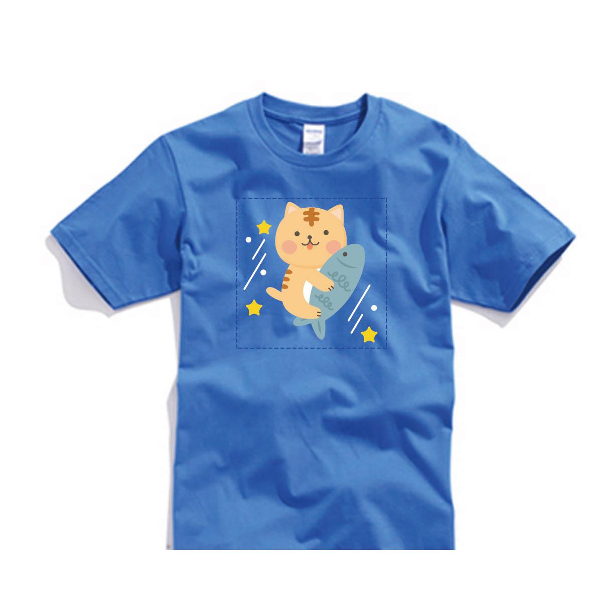 ✨ 喵星2系列✨自己的T恤自己做-色T!100%純棉台製棉T素材!一件也可以做!多件另有優惠!歡迎團體訂做!BSP喵星系001_喵飛彈_E - 限時優惠好康折扣