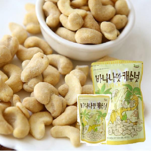 有樂町進口食品 韓國熱賣 韓國香蕉腰果190g 8809022206351