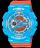 國外代購CASIO BABY-G BA-110NC-2A 藍橘 雙顯 防水 手錶 腕錶 情侶錶 0