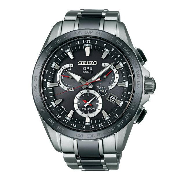 SEIKO ASTRON8X53不鏽鋼錶款/8X53-0AB0D/SSE041J1