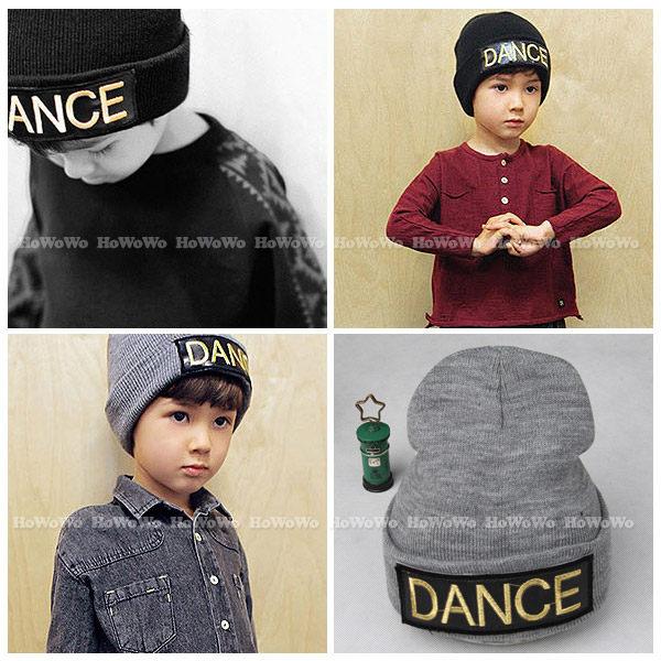 寶寶帽DANCE翻邊套頭帽 針織毛線帽 嬰兒帽   BU1336