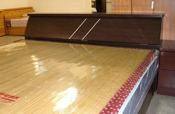 【尚品家具】642-02 胡桃5尺床頭~另有白橡色床頭箱~另有3.5尺、6尺床頭箱