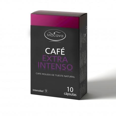 Pack 120 cápsulas EXTRA INTENSO compatibles con Nespresso 0