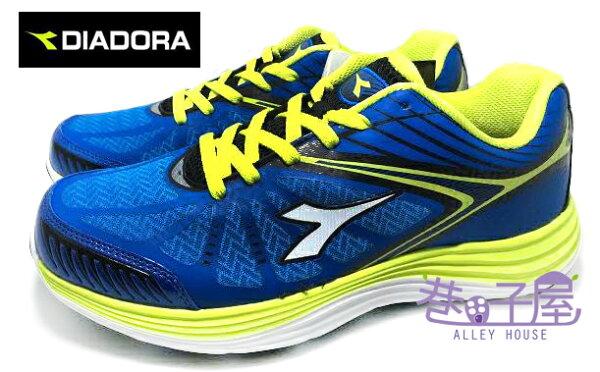 【巷子屋】義大利國寶鞋-DIADORA迪亞多納 男款TPU超輕量閃電極速跑鞋 [2356] 藍 超值價$590