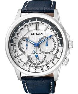 CITIZEN星辰BU2020-11A經典雅仕光動能腕錶/白面44mm