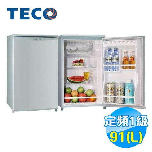 東元 TECO 91公升 單門小冰箱 R1061SC