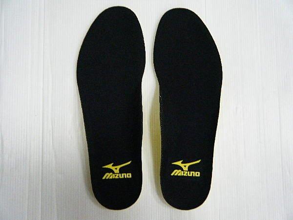 [陽光樂活] 美津濃 MIZUNO 慢跑鞋墊 8ZA-12009 鞋墊 黑