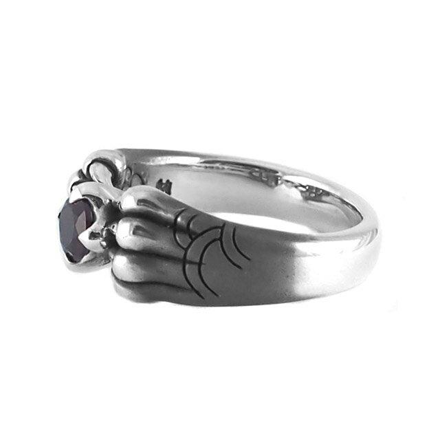 【現貨商品】【Bloody Mary】Aslan 阿斯蘭獅爪純銀戒指 石榴石(BMR1386-G) 3