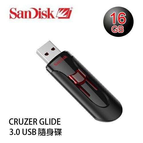 【增你強公司貨】SanDisk CRUZER GLIDE CZ600 3.0 USB 隨身碟 16GB ~增你強公司貨五年有限保固~SDCZ600-016G