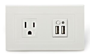 USB充電插座系列 - USB插座暨插座面板 ** 安全和方便兼顧 **