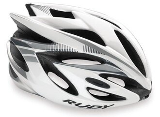 【7號公園自行車】RUDY PROJECT AIRSTORM RUSH 安全帽(白銀)