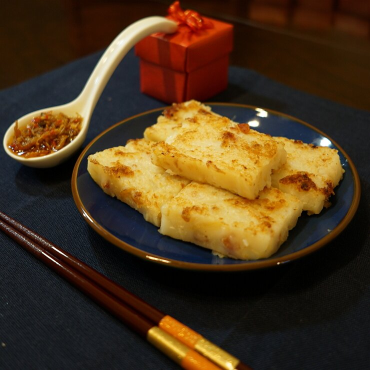 【飛高糕】港式臘味蘿蔔糕5入組  (750 公克 +/- 5% x 5) 1