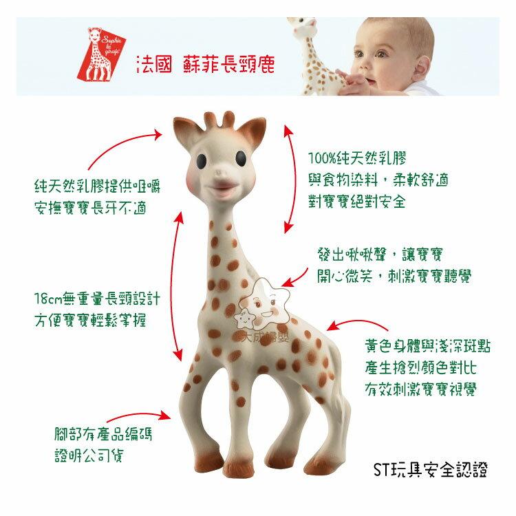 【大成婦嬰】法國 蘇菲長頸鹿 咬咬玩具13701 (唯誠公司貨) 固齒器 1