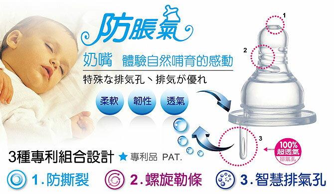 『121婦嬰用品館』辛巴 防脹氣標準圓孔奶嘴 S 4入 1