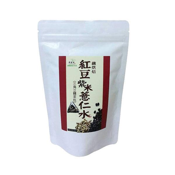 『121婦嬰用品館』阿華師 天籟茶品紅豆紫米薏仁水(15g*12入/袋) 0