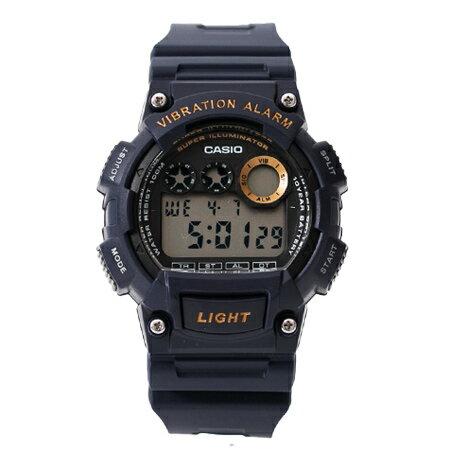 CASIO卡西歐 深藍色數位電子多功能鬧鈴靜音震動運動腕錶 防水100米 柒彩年代【NE1770】原廠公司貨 0