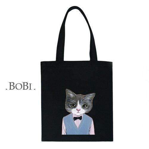 手提包 帆布袋 手提袋 環保購物袋【DEB000567-2】 BOBI  08/18 0