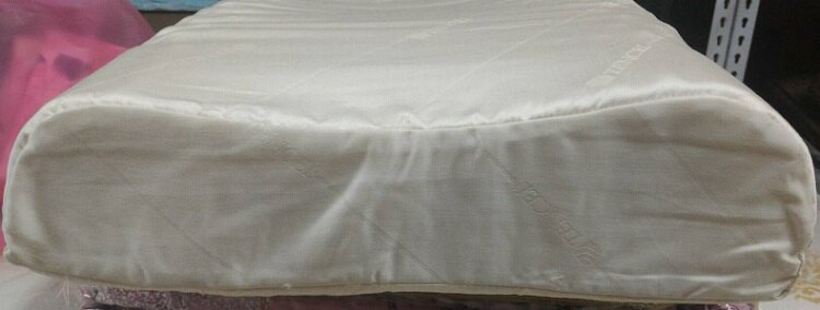 [床工坊]( 台灣製造)工學型前高後低乳膠枕----全年供應(加贈枕頭套) 1