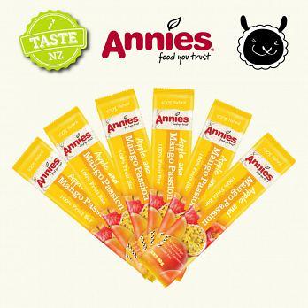 【壽滿趣- 紐西蘭原裝進口】Annies 全天然水果條(百香芒果6盒, 36片家庭裝) 1