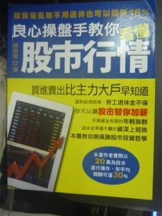 【書寶二手書T1/投資_YGI】良心操盤手教你看懂股市行情:投資零風險不用_陳榮華