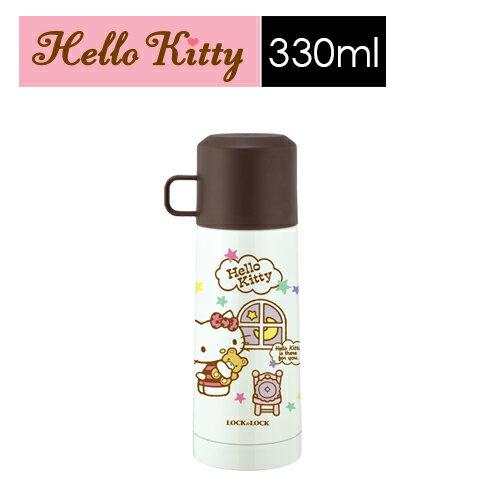 ~SHOPPINESS~樂扣樂扣Hello Kitty晚安茶杯保溫瓶350ML LOCK