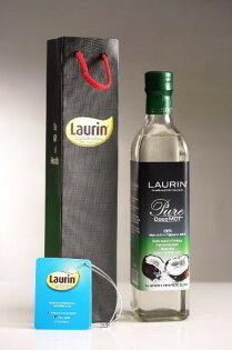 菲律賓Laurin原裝進口CocoMCT (中鏈脂肪酸椰子油)  500ml X 12 - 錦市場