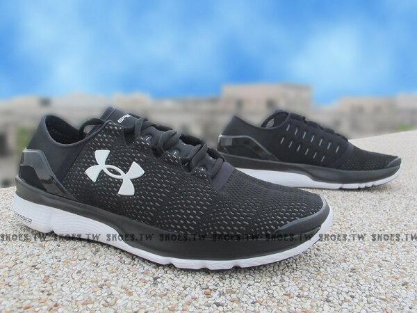 [27.5cm] Shoestw【1266205-001】UNDER ARMOUR UA 慢跑鞋 Apollo2 黑白 男生 2代