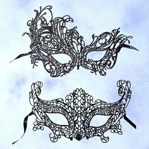 X射線【W271676】凡爾賽蕾絲面具,萬聖節/武器道具/派對道具/角色扮演/化妝舞會/性感/夜店