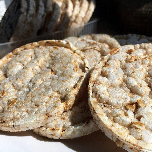【萊斯飯店】健康有機糙米餅洋薏仁 (珍珠大麥)  素食